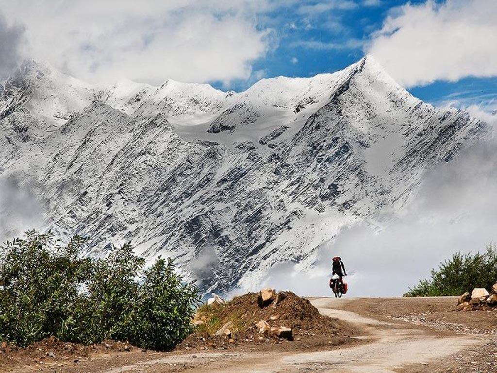 Balade à bike à Leh