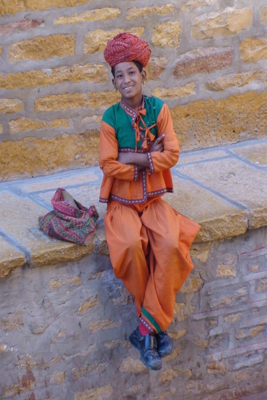 Garçon du Rajasthan