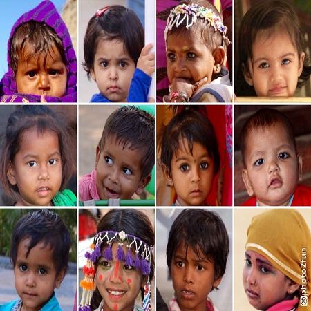 Hommes et femmes de l'Inde