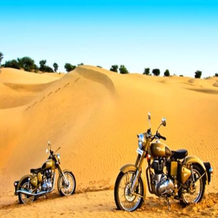 Rajasthan à moto : entre désert et palais de Maharajas