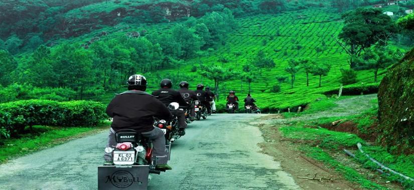 Inde du Sud à moto : entre rizières et cocotiers