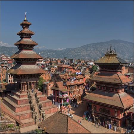 Kathmandu et Nagarkote